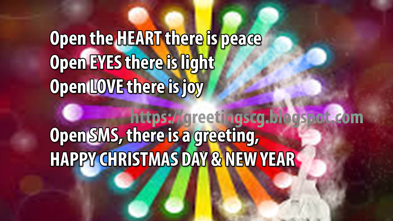 New Year of Greetings (Christmas) Wishes 2018/2019 | Greetings ...