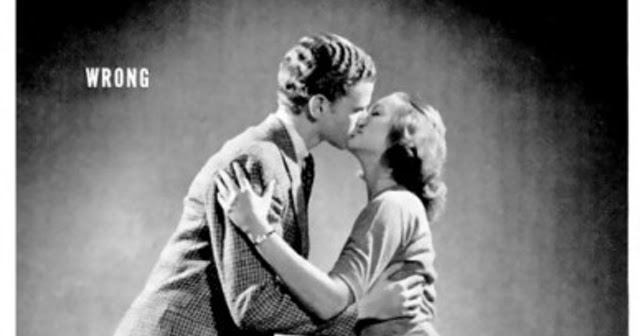 1940S Kissing Style Photo Guide On How To Kiss Correctly -5778