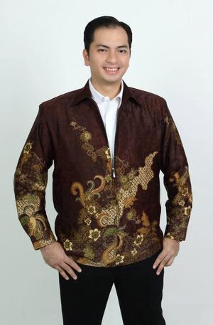 Model Jasket Batik Pria Elegan terbaru 2016