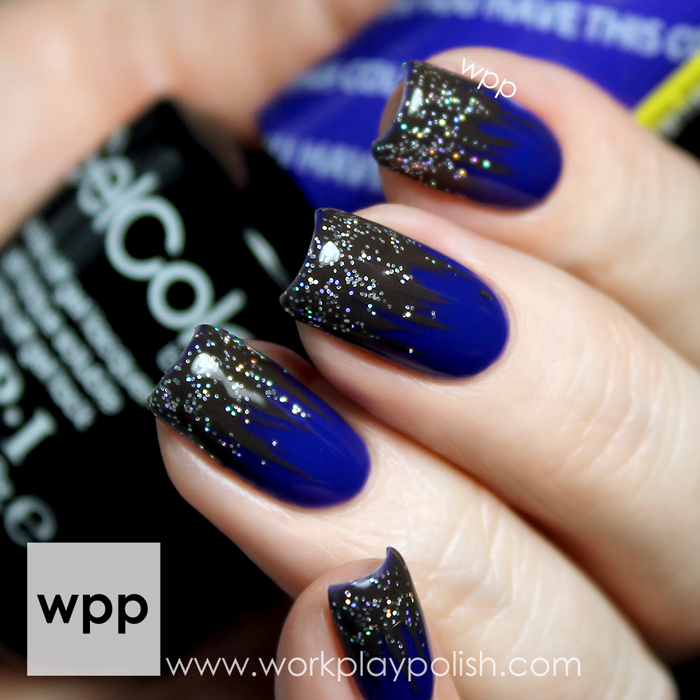 Dip Dye Nail Art with the OPI Nordic Collection