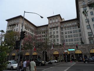 """Fachada do hotel onde foi gravado o filme """"Uma linda mulher"""""""