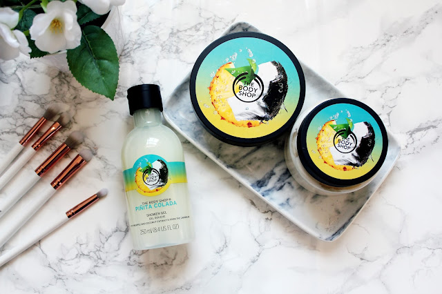 The Body Shop Piña Colada Range Review