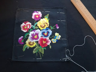 arrange embroidery on fleece fabric craftrebella