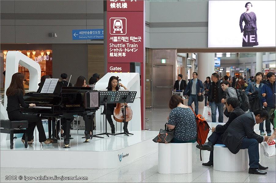 Сеул достопримечательности что посмотреть аэропорт