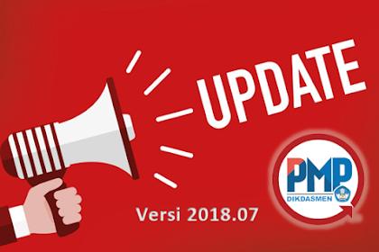 Rilis Pembaruan Aplikasi Pemetaan PMP 2018.07