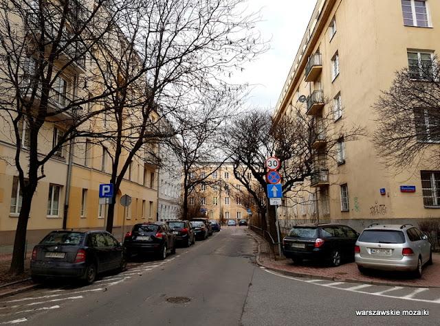 Warszawa Warsaw Ochota kamienice architektura
