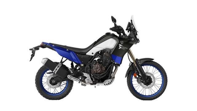 Yamaha Tenere 700 con el mismo motor de la MT-07