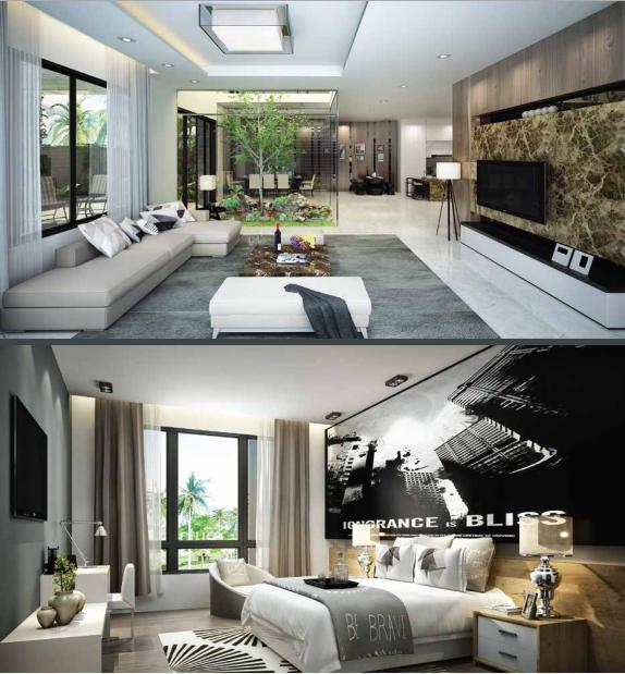 Thiết kế nội thất biệt thự Mon Bay
