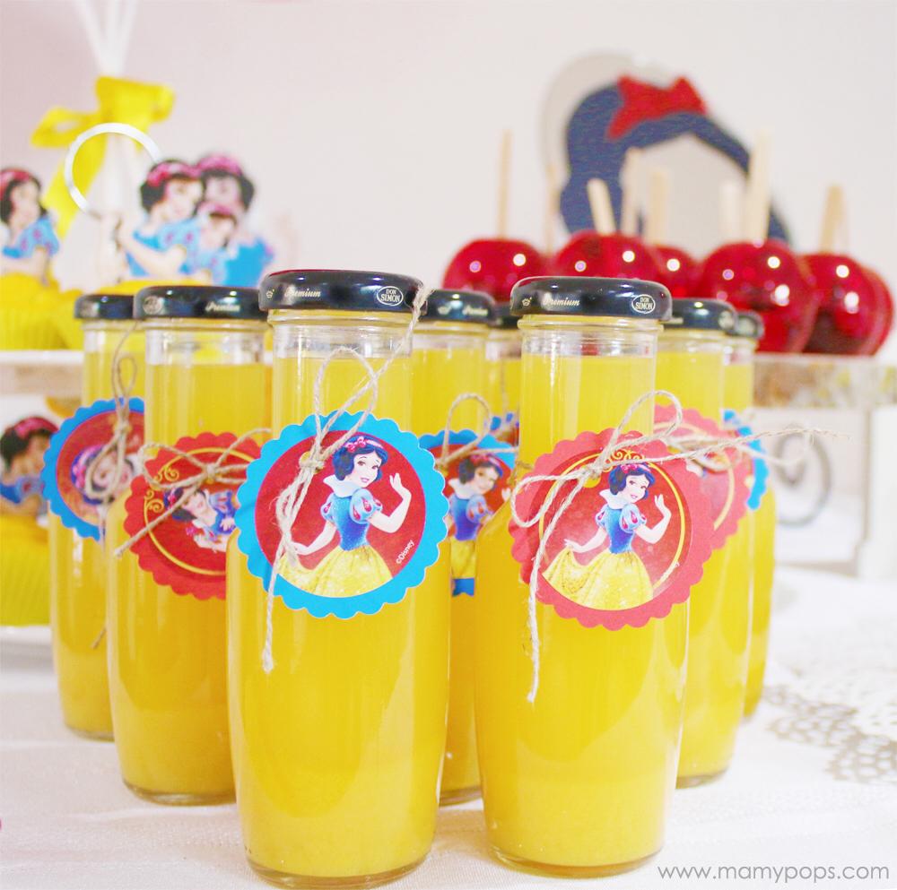 Mamypops Decoracion De Cumpleanos Blancanieves Snow White Party