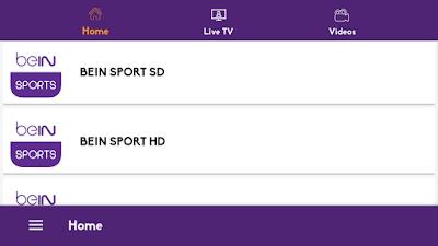 ITS GREAT NEW APP SPORT : WATCH ALL CHANNELS HD/SD/LOW 2019