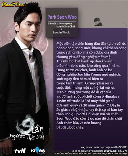 Oh Min Suk as Kang Seo Joon (31) Yoo Se Rye as Sung Eun Joo (38) Kim Won  Hae (김원해) as Park Chang Min (64) Lee Han Wie as Joo Sung Hoon (Min Young's  ...