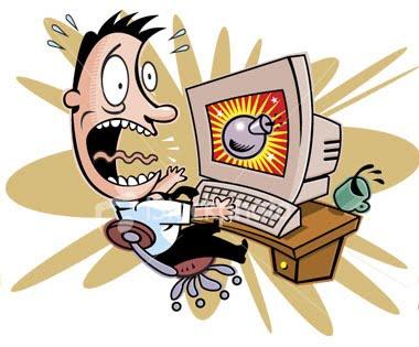 Ilustrasi cara mengatasi komputer hang