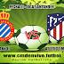 Espanyol vs Atlético Madrid en vivo - ONLINE por la Liga Santader: 22 de Diciembre 2017
