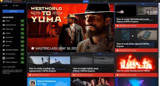 HitFilm Express aplikasi edit video gratis untuk komputer atau laptop