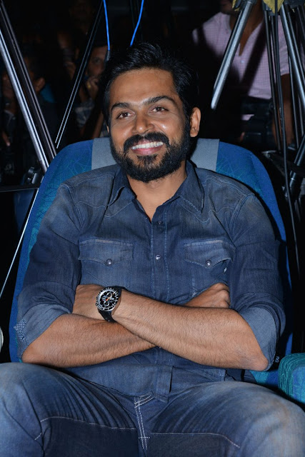 Actor Karthi at Kaashmora Telugu Movie Audio Launch