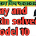Ray and Martin solved Model 10 class 12 English suggestion 2019