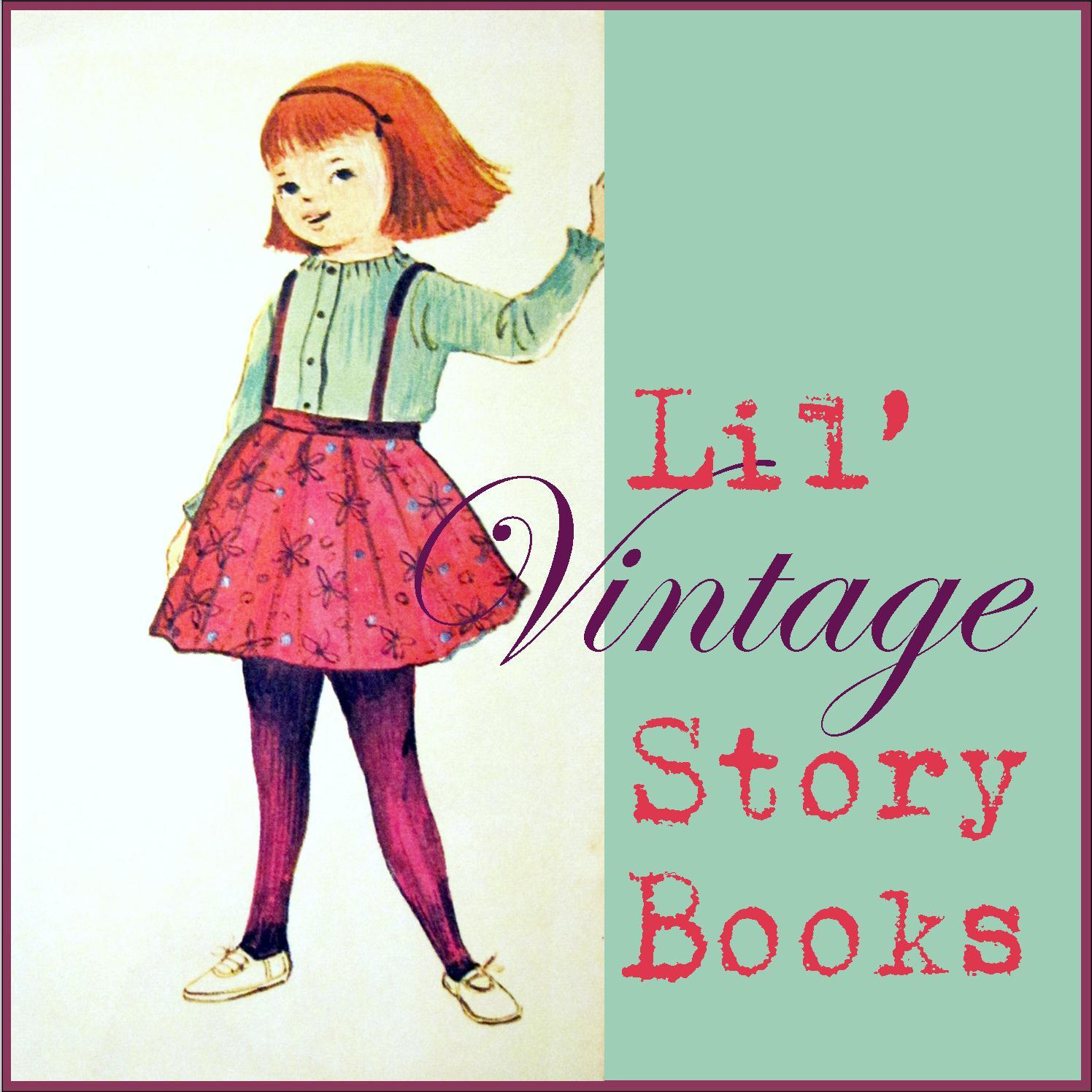 Corey Moortgat- Collage Artist: Lil' Vintage Story Books #16