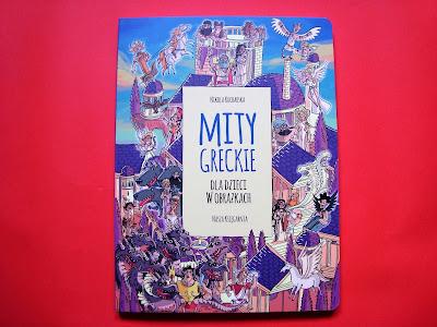 Mity greckie dla dzieci w obrazkach, komiks, Nikola Kucharska