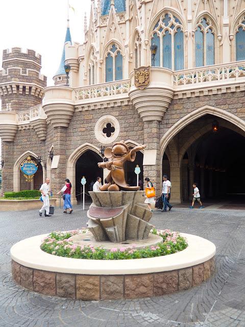 Sorcerer Mickey statue, Tokyo Disneyland, Japan