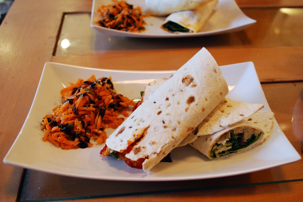Wraps at The Foodstory Cafe, Aberdeen