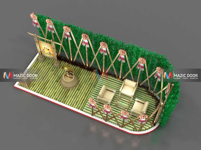 Bamboo Exhibition Stall Design 05