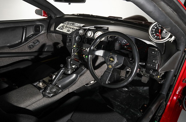 Interior Nissan 300ZX JUN Automechanic