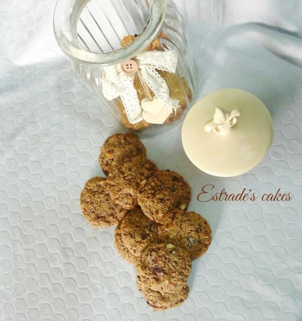 Receta de cookies integrales 2