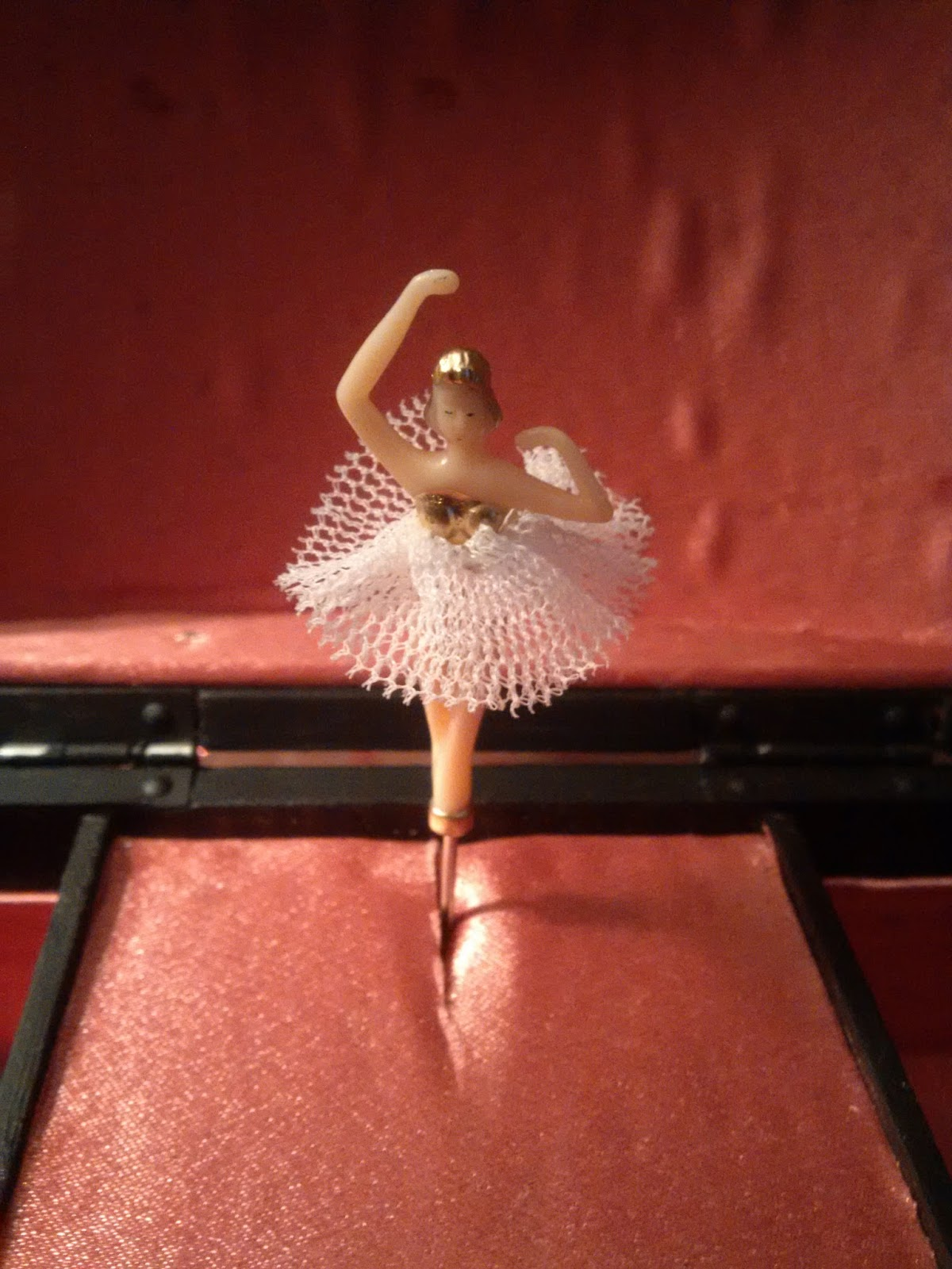 Mini Ballerina Replacement For 80s Jewelry Music Box The Destiny Of Things Story 350