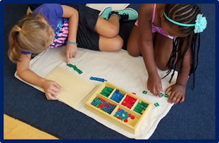 Here are two things most teachers probably think don't mix: Montessori and the Common Core! This guest post shares one teacher's insight and experience with combining these two seemingly separate teaching structures. Click through to read her full post on Minds in Bloom.