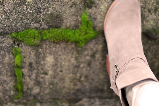 sam edelman blush suede ankle boots