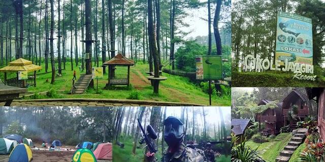 Wisata Alam Penuh Kebersamaan di Cikole Jayagiri Resort