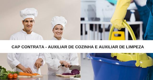 auxiliar de cozinha - Auxiliar de limpeza