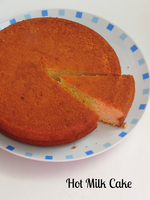 Hot milk Cake, Old Fashioned Hot Milk Cake