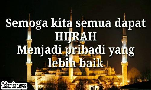 Kata Ucapan Selamat 1 Muharam Tahun Baru Islam Hijriah 1441