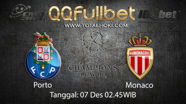 PREDIKSIBOLA - PREDIKSI TARUHAN BOLA PORTO VS MONACO 7 DESEMBER 2017 ( UEFA CHAMPIONS LEAGUE )