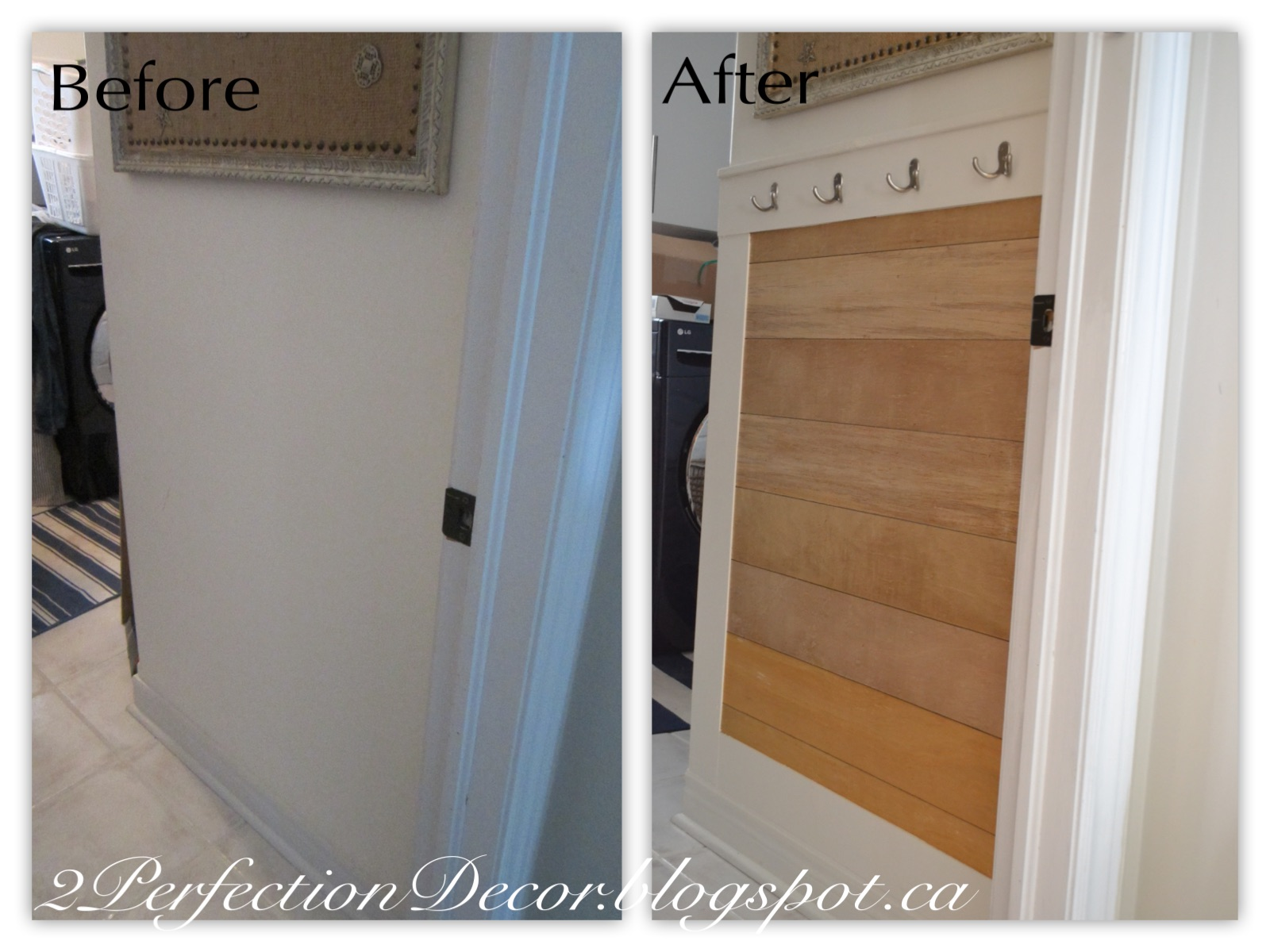 2perfection decor diy laundry mudroom wall hooks diy laundry mudroom wall hooks amipublicfo Gallery