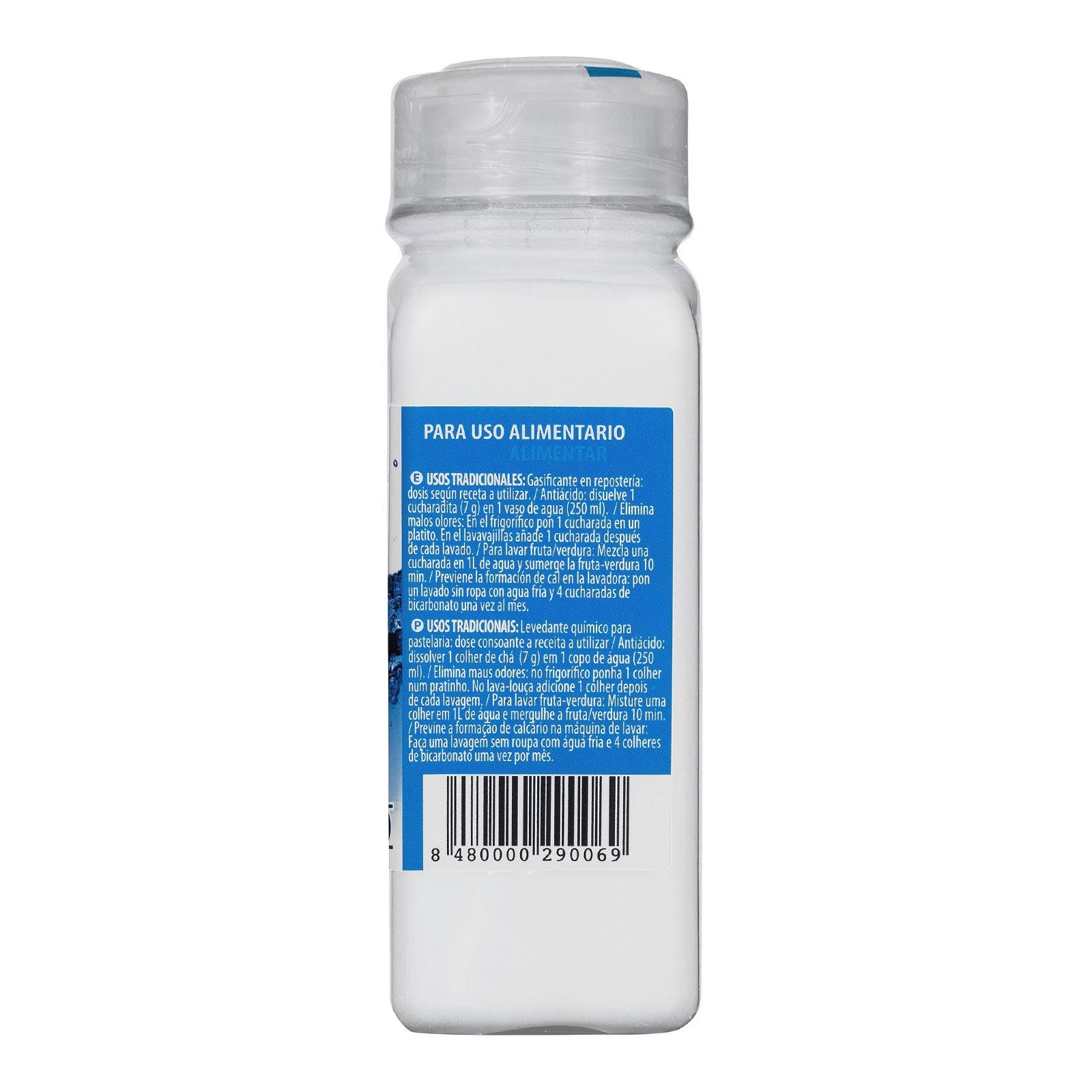 Bicarbonato de sodio Hacendado