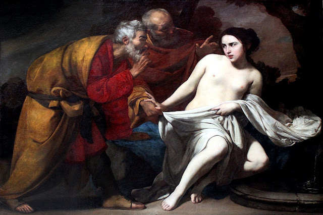 Massimo Stanzione: Susanna e i vecchioni