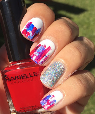 4th of July Mani