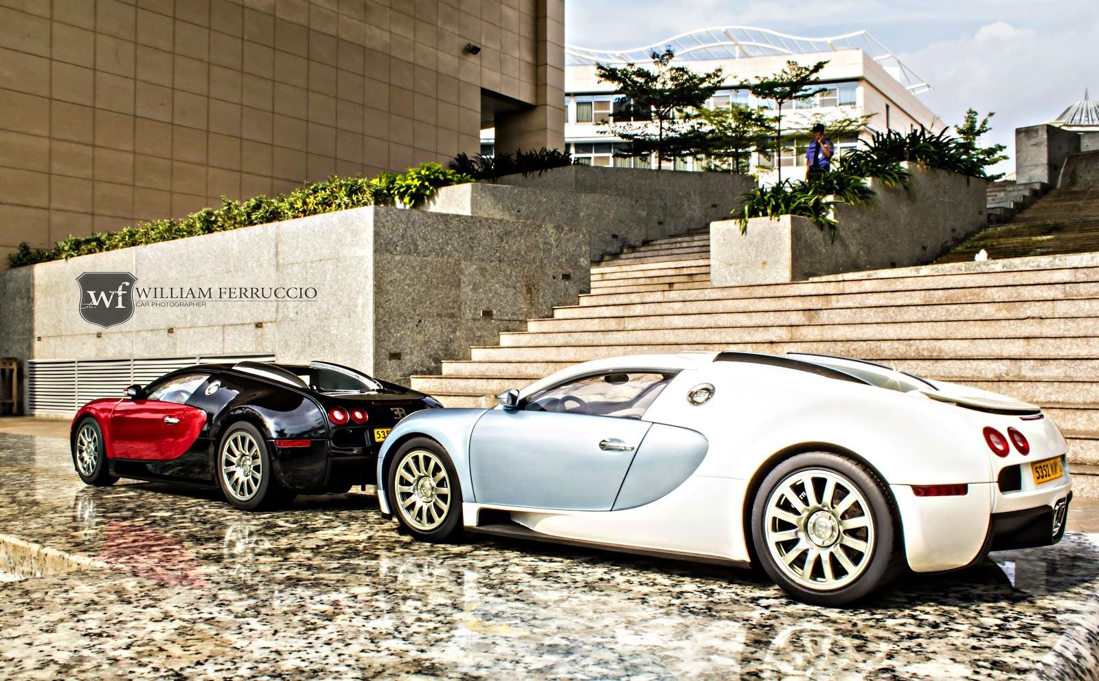 Kích thước thực của các mô hình siêu xe Bugatti Veyron