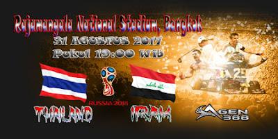 JUDI BOLA DAN CASINO ONLINE - PREDIKSI PERTANDINGAN KUALIFIKASI PIALA DUNIA ASIA THAILAND VS IRAK 31 AGUSTUS 2017