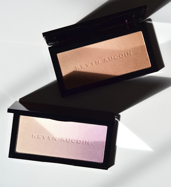 Kevyn Aucoin Neo-Highlighter Sahara Neo-Limelight Ibiza Swatches Photos Review FOTD