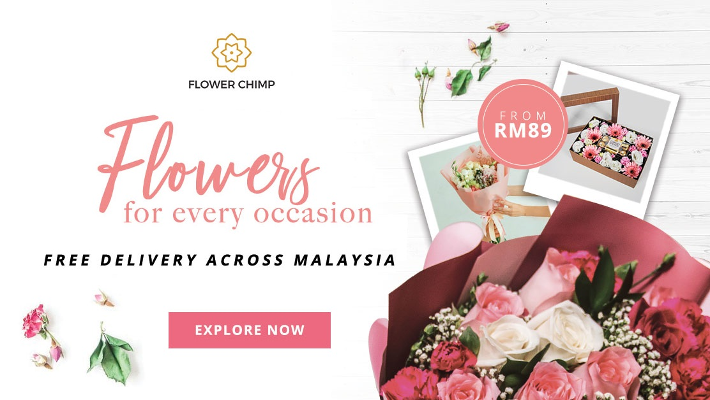khidmat penghantaran bunga, bunga untuk kekasih, hadiah istimewa, perkhidmatan mudah seluruh negara
