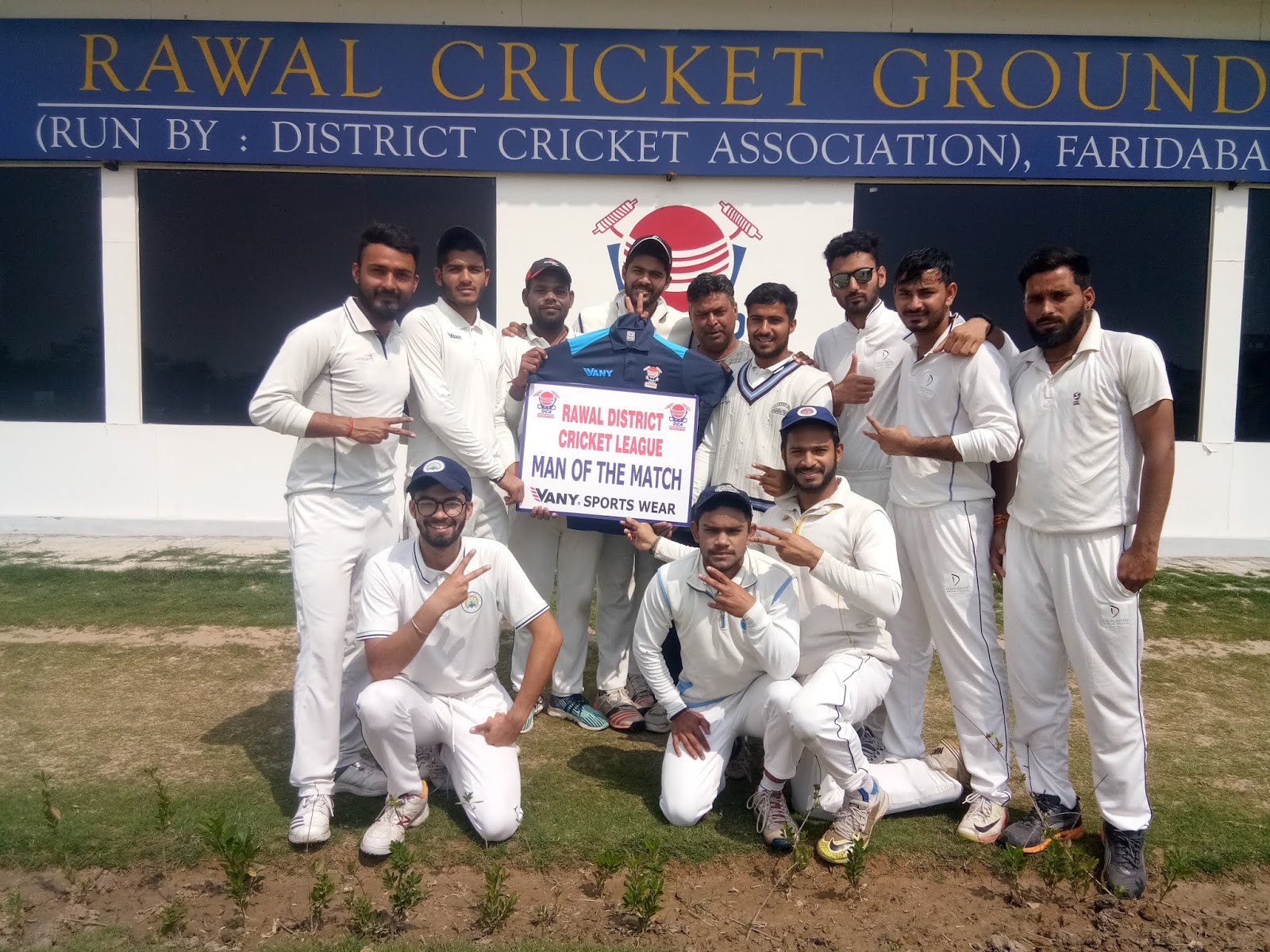 डिलाइट क्रिकेट क्लब ने मेवात अरावली क्रिकेट एसोसिएशन  को 18 रन से हराया