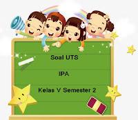 Soal UTS IPA Kelas 5 Semester 2 Untuk Tahun Ajaran 2017/2018