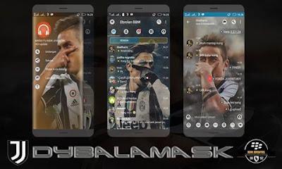 BBM Mod DybalaMask V3.3.1.24 Apk [Clone]