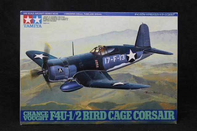 F4U-1/2 Bird Cage Corsair Tamiya 1/48