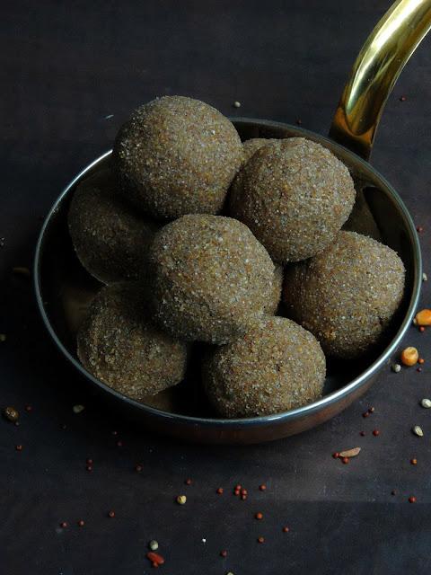 Sathmaavu Laddoo, Sweet Sathumaavu Balls