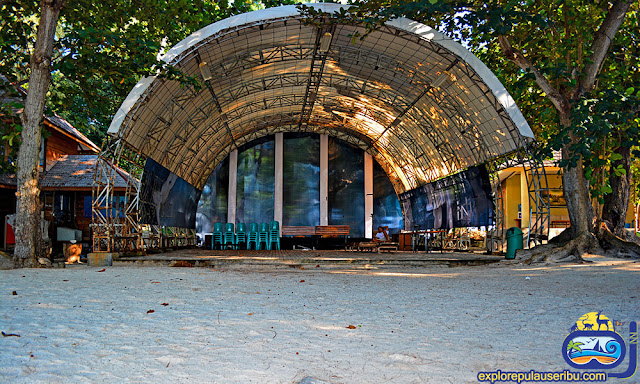 dome hall di pulau genteng kecil