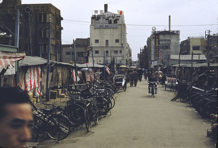 14 Beautiful Color Photos of Tokyo in 1950 ~ Vintage Everyday